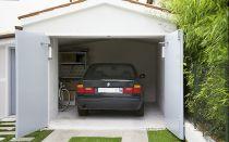 Распашные ворота для гаража своими руками